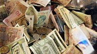 Garść banknotów
